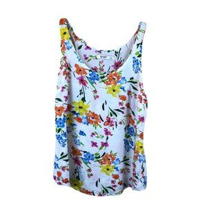 Old Navy Soft Floral Colorful Top